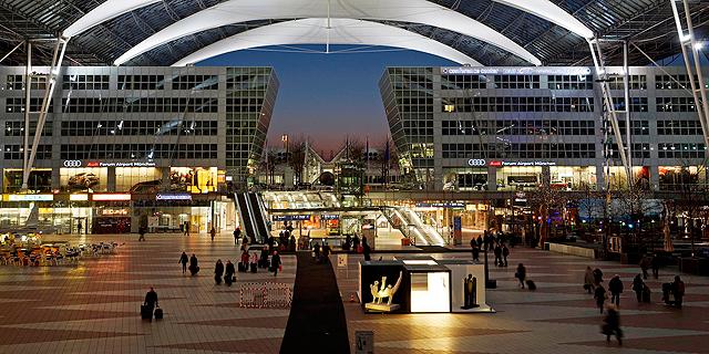 מקום 5. שדה התעופה של מינכן, גרמניה, צילום: munich-airport.de