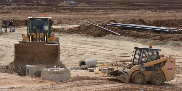 בנייה בכרמי גת, צילום: אלעד גוטמן יש עתיד