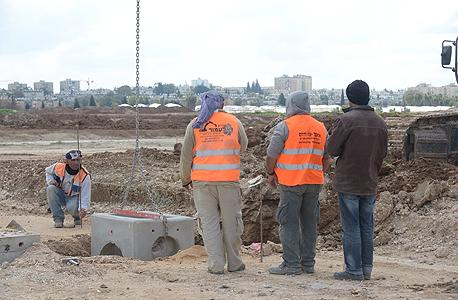 בנייה בכרמי גת (ארכיון)