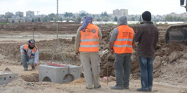בנייה בכרמי גת (ארכיון), צילום: אלעד גוטמן יש עתיד