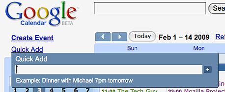 , צילום מסך: calendar.google.com