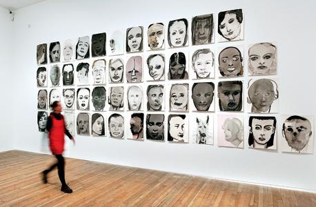 עבודות של דומה: סדרת דיוקנאות, צילום: Olivia Hemingway
