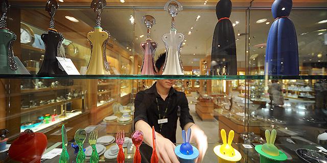 מוצרים של אלסי בחנות באוסטרליה. תג מחיר של שוק יוקרה, צילום:בלומברג