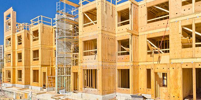 """בנייה בארה""""ב, צילום: שאטרסטוק"""