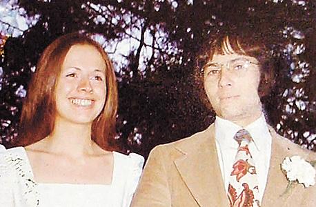 עם אשתו קתלין, שנעלמה בניו יורק ב־1982