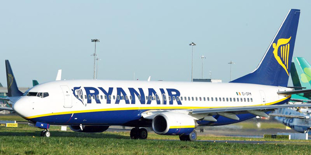 Low-Cost Airline Ryanair Announces Tel Aviv to Thessaloniki Route
