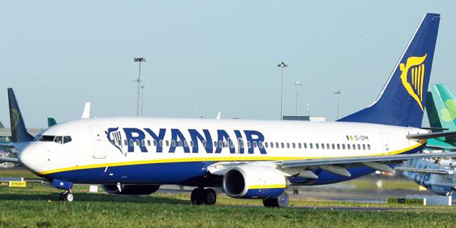 ריינאייר השיקה לוח טיסות לחורף 2017 הכולל 15 קווי טיסה חדשים