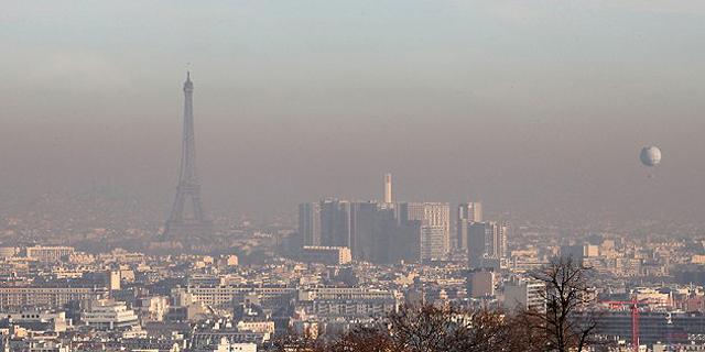 זיהום אוויר בפריז