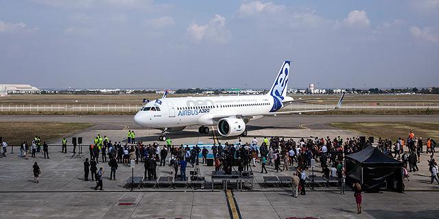 מטוס איירבס A320, צילום: בלומברג