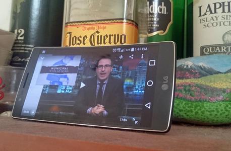 LG G FLEX 2 מסך גמיש סמארטפונים, צילום: ניצן סדן
