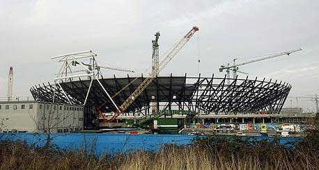"""עלות האצטדיון האולימפי בלונדון: 547 מיליון ליש""""ט"""