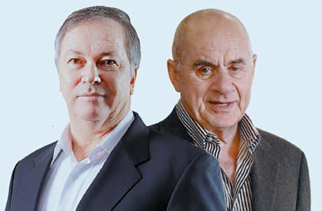 מימין שרגא בירן ודודי ויסמן, צילום: עמית שעל