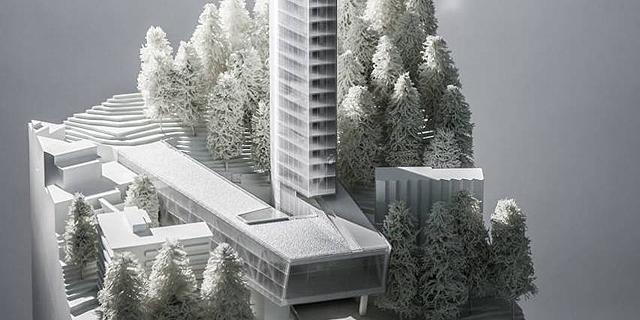 הבניין הגבוה באירופה ייבנה דווקא בכפר באלפים השוויצריים