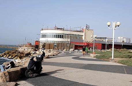 הדולפינריום בתל אביב. המתנגדים מתקוממים על היקף זכויות הבנייה שניתנו ליזם בתמורה לפינוי המתחם, צילום: מיכאל קרמר