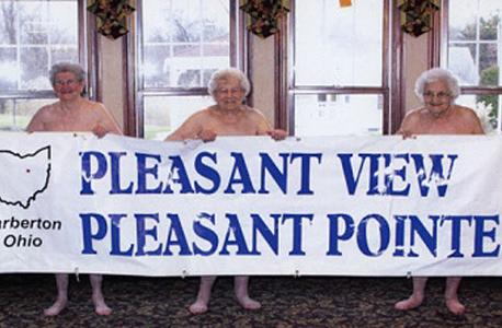 מתוך לוח השנה. ההכנסות יעברו לצדקה, צילום: Pleasant Pointe Assisted Living