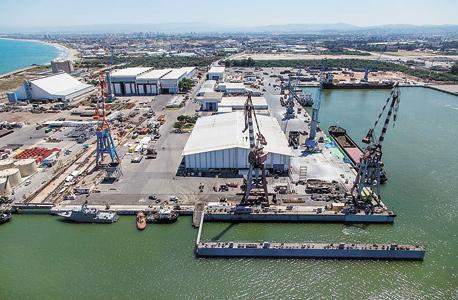 נמל מספנות ישראל בחיפה, צילום: אלבטרוס צילום אווירי