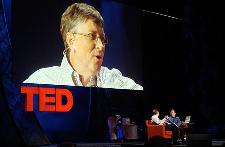 ביל גייטס בכנס TED , צילום: cc-by Magnify.net