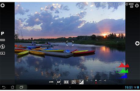 אפליקציה צילום camera FV-5 אנדרואיד