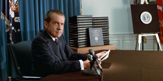 שבר את הכלים. ניקסון, צילום: ויקיפדיה