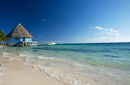 החוף הפרטי ממנו יהנו אורחי הריזורט