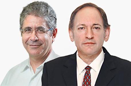 מימין: אהוד סול ואייל רוזובסקי. הסכסוך עבר לבית המשפט