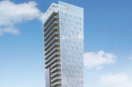 הדמיית ה מגדל במתחם בית ליסין ברחוב ויצמן ב תל אביב מגדלים