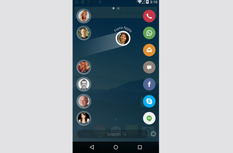 drupe אפליקציה אנשי קשר אנדרואיד