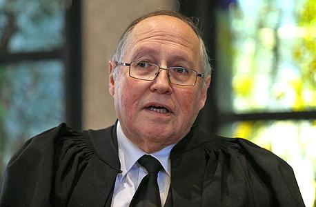 השופט אליקים רובינשטיין. המועמד של דנציגר