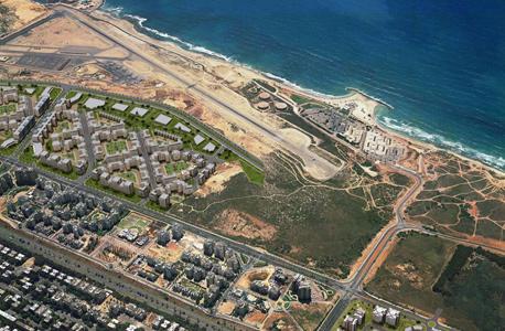 שטח תוכנית 3700 בצפון מערב תל אביב