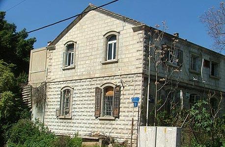 בית טמפלרים בשכונת שרונה
