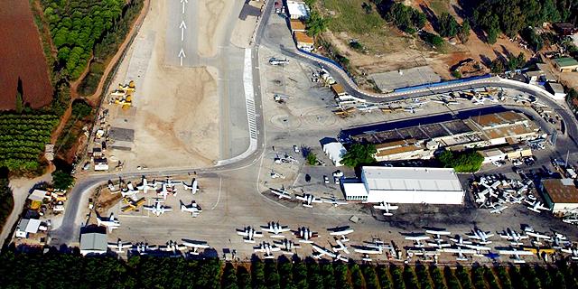 שדה התעופה ב הרצליה צילום אווירי, צילום: מאיר פרטוש באמצעות אילן ארד