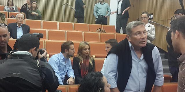 נוחי דנקנר בבית המשפט, צילום: זהר שחר לוי