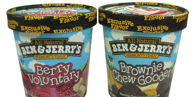 בן אנד ג'ריס שינתה שם של גלידה כהוקרה על האישור לנישואים חד מיניים