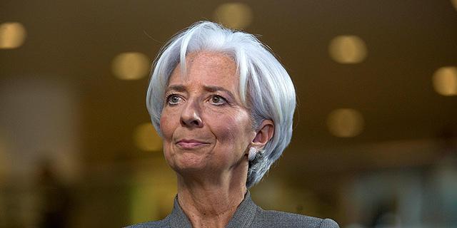 """יו""""ר קרן המטבע הבינלאומית כריסטין לגארד. המאמר הכה גלים בעולם, צילום: בלומברג"""
