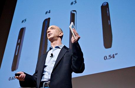 ג'ף בזוס מציג את קינדל 2.0. הקמת אמזון כנבואה