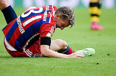 שחקן כדורגל באיירן מינכן (ארכיון), צילום: איי פי