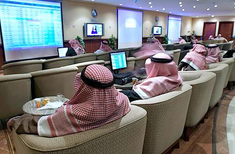 משקיעים בבורסת סעודיה