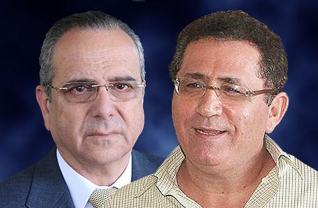 עופר עיני ו שרגא ברוש, צילום: עמית מגל, אוראל כהן