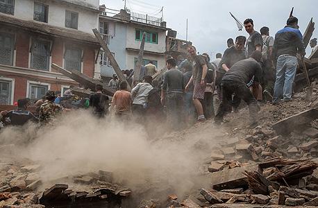 רעש אדמה ב נפאל רעידת אדמה קטמנדו הריסות , צילום: אימג'בנק, Gettyimages