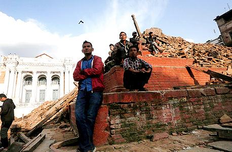 רעידת האדמה השבוע בנפאל