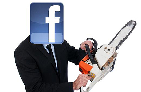 פייסבוק מסור חשמלי תחרות