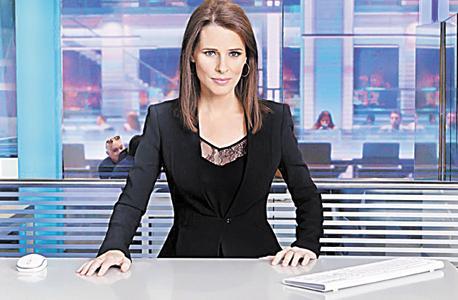 תמר איש שלום, מגישת חדשות ערוץ 10 (ארכיון)