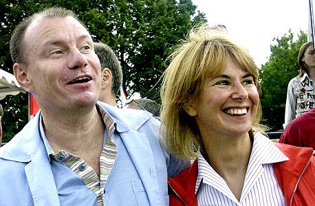ולדימיר ו נטליה פוטאנין, צילום: איי אף פי