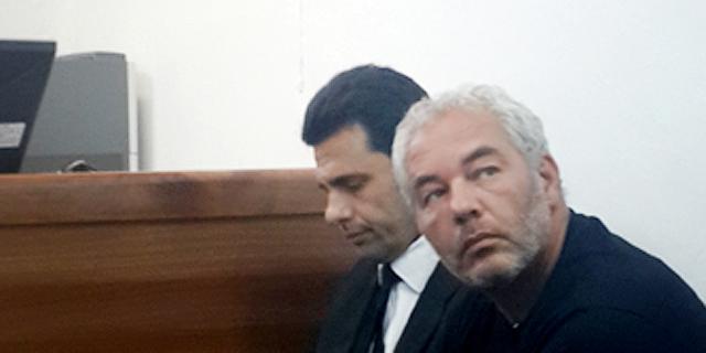 """עו""""ד רונאל פישר בהארכת מעצרו בשבוע שעבר, צילום: זוהר שחר לוי"""