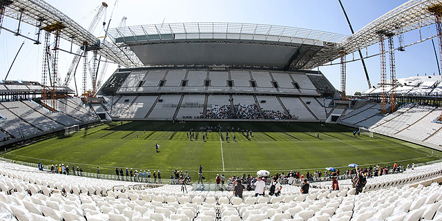 10 חודשים אחרי סיום המונדיאל: הושלמה בניית האצטדיונים בברזיל