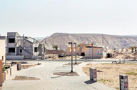 השכונה החדשה בשדה בוקר: עשירי המרכז משלמים הון תמורת שקט מדברי