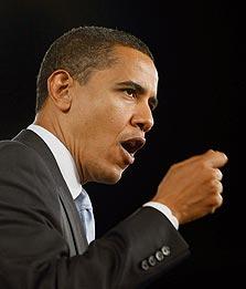 """""""המלצנו לאובמה לבנות את הנאומים שלו כך - להתחיל רגוע, לטפס באמצע הנאום ולהגיע לשיא בסוף"""""""