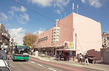 המבנה בו שכן קולנוע אורה ברחוב הרצל 41