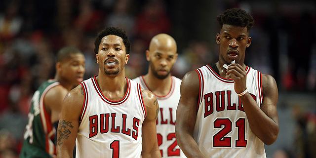 שיקגו בולס. שיקגו בולס כנראה תחמיץ העונה את הפלייאוף ב-NBA, לראשונה מזה שבע שנים, צילום: TNS