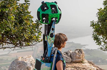 גוגל סטריט וויו שביל ישראל, צילום: מנחם רייס